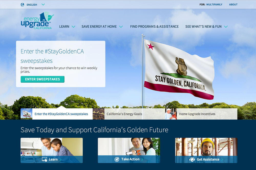 Energy Upgrade California website.