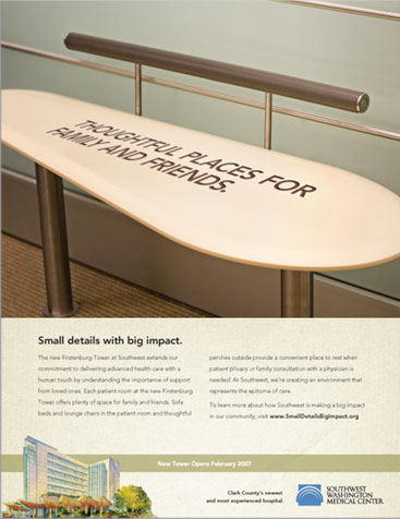 Firstenburg Patient Tower Print Ad