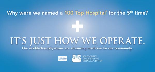 SWMC Top 100 Hospitals Campaign