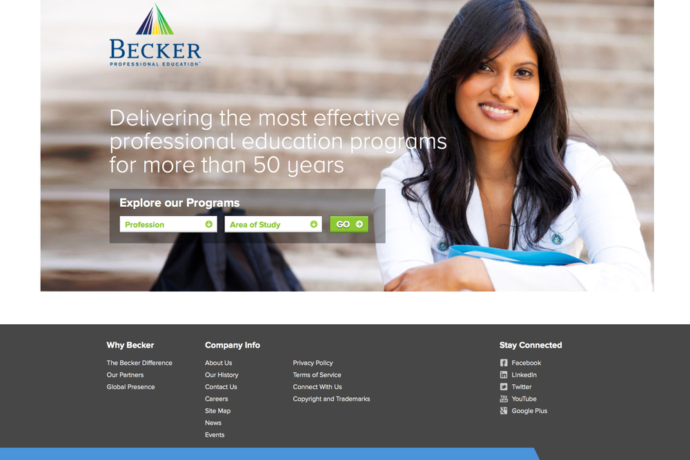 Becker Website