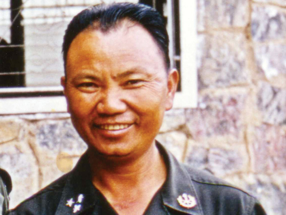 LEADERSHIP - Vang Pao has been widely portrayed by his Hmong supporters and the US media as an American war hero and venerated leader of the Hmong people. The former CIA chief William Colby once called him 'the biggest hero of the Vietnam war'.— The Guardian, Feb. 2011. Courtesy GVP Family.