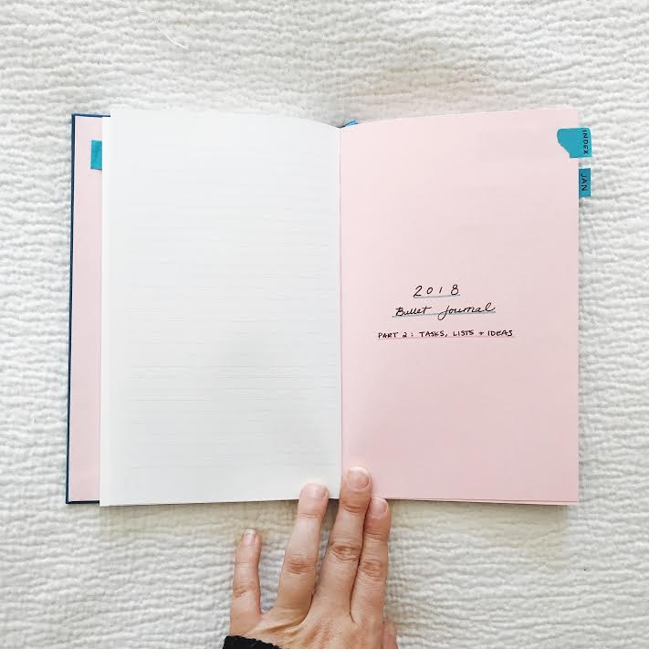 New Year New Bullet Journal My Dot Journal Setup For 2018