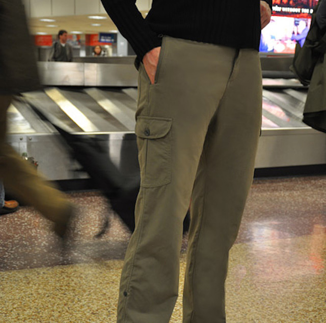 WEARABLE SECURITY: Pick-Pocket Proof Travel Pants