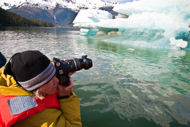 Exploring Alaska's Inside Passage on a photography-themed voyage with Un-Cruise Adventures. © Ellen Barone.
