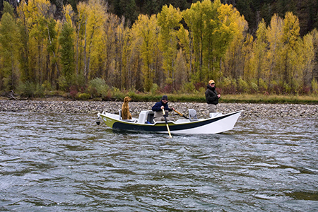 Fly fishermen, South Fork of the Snake River