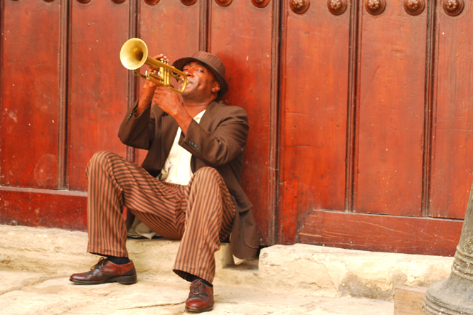 Cuba Musician by Charlie Weaver/International Expeditions