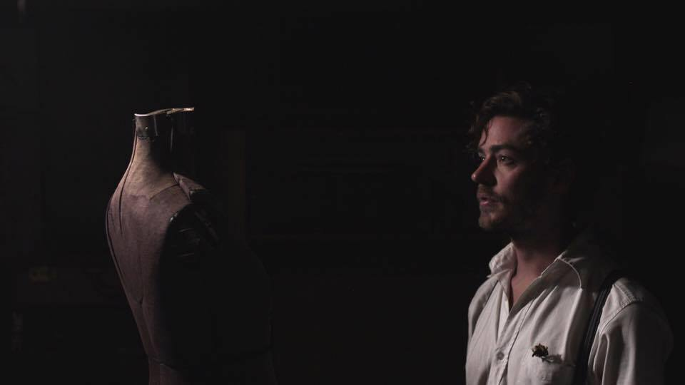 "still shot from the shot film ""Adam"" by Jonathan and Mr. Michael Gallo in association with the Freight Project."