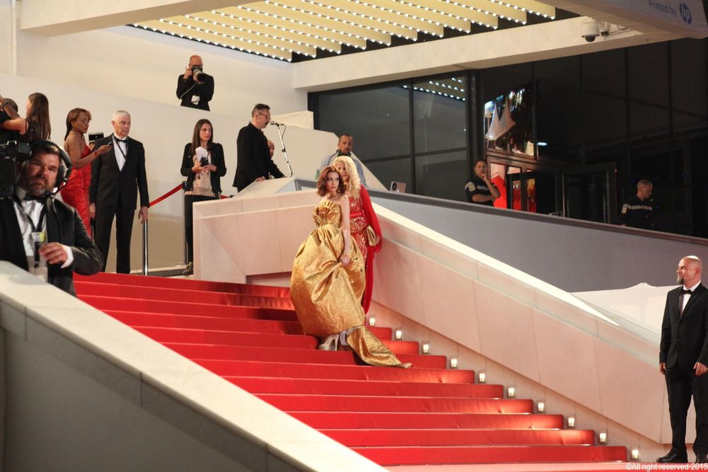 Cannes Film Festival Red Carpet Palais Stairs