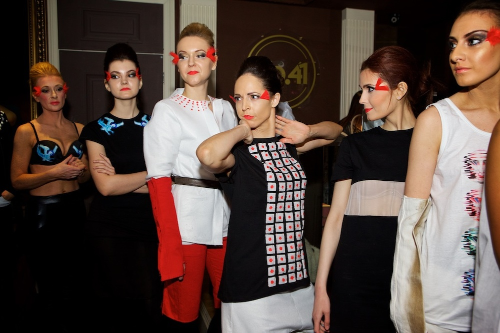 London Fashion Week February 2015 - Behind The Scenes