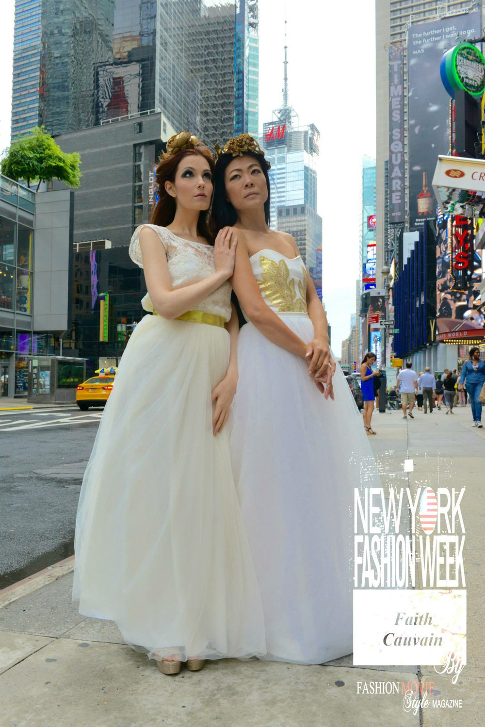 Times Square Duo Photo Shoot (Angels) September 2015 Professional Photo (2).jpg