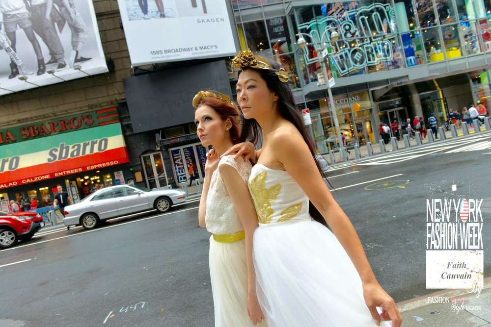 Times Square Duo Photo Shoot (Angels) September 2015 Professional Photo (6).jpg