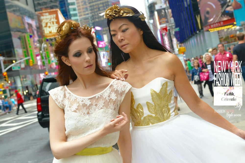 Times Square Duo Photo Shoot (Angels) September 2015 Professional Photo (8).jpg