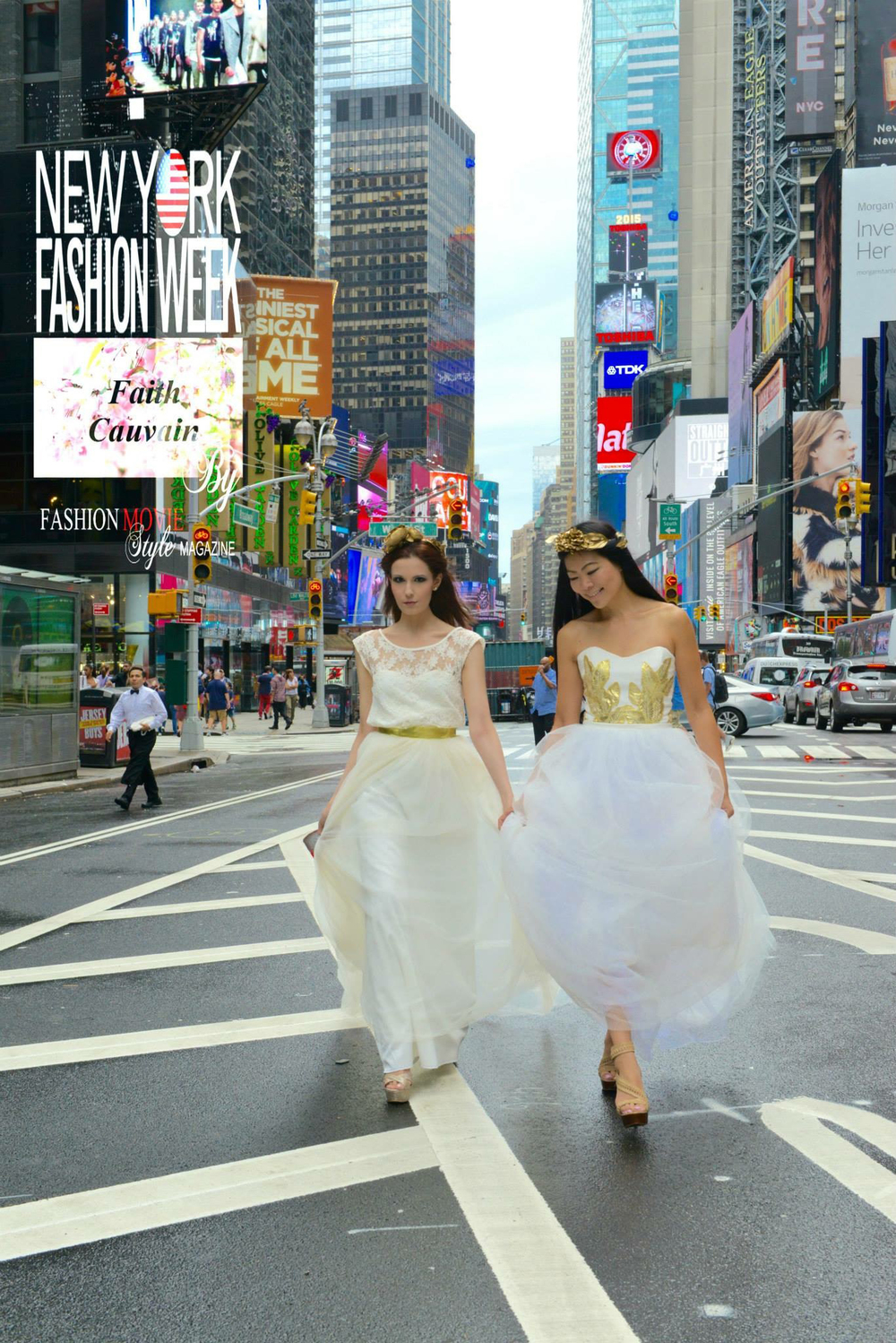 Times Square Duo Photo Shoot (Angels) September 2015 Professional Photo (12).jpg