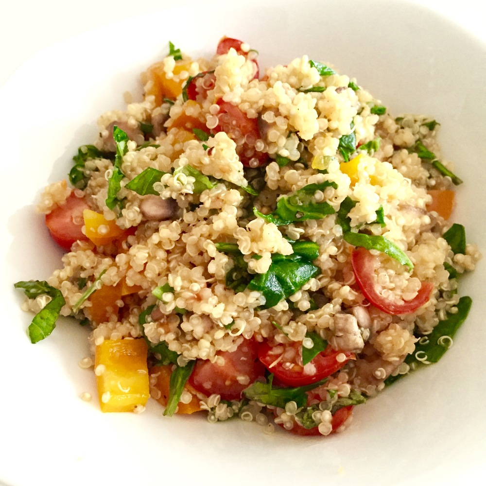 Healthy Italian Quinoa Salad