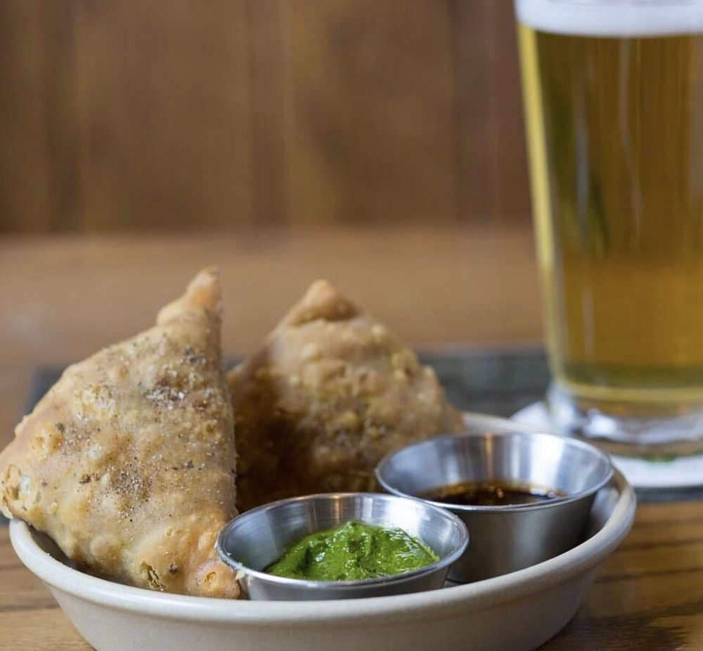 Samosas- courtesy of Pub Royale's Instagram
