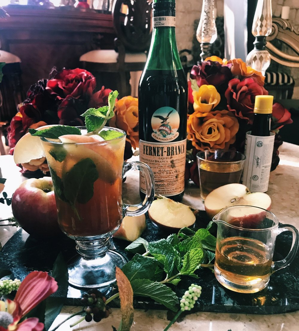 Fernet Cocktails- Fall Cider