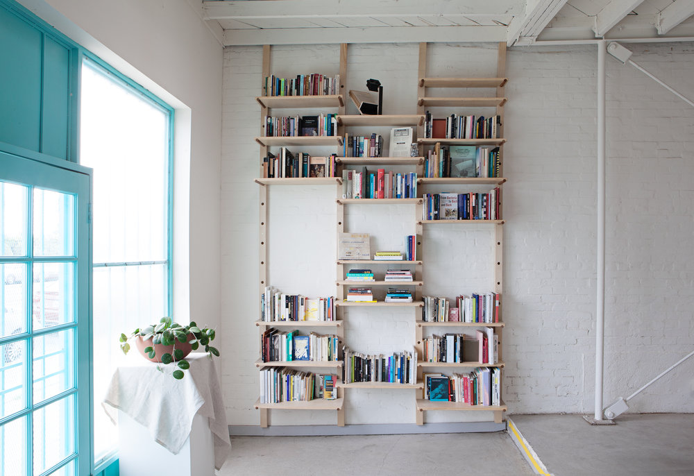 BOOKSHELVES | Ann Harezlak  - visit 3307 W Washington Blvd to check out the current installation by archivist, art historian and curator Ann Harezlak, now in residence through June 2018