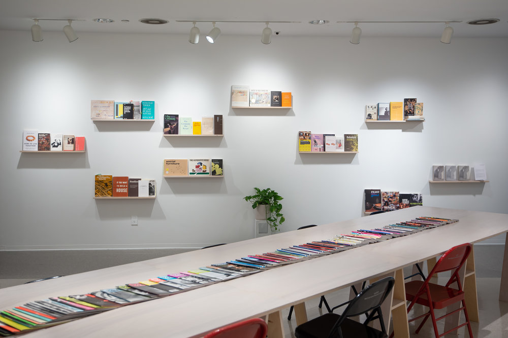 BOOKSHELVES | 1050 N Mills Ave , Installation at Pitzer College Art Galleries, Claremont CA, 2019