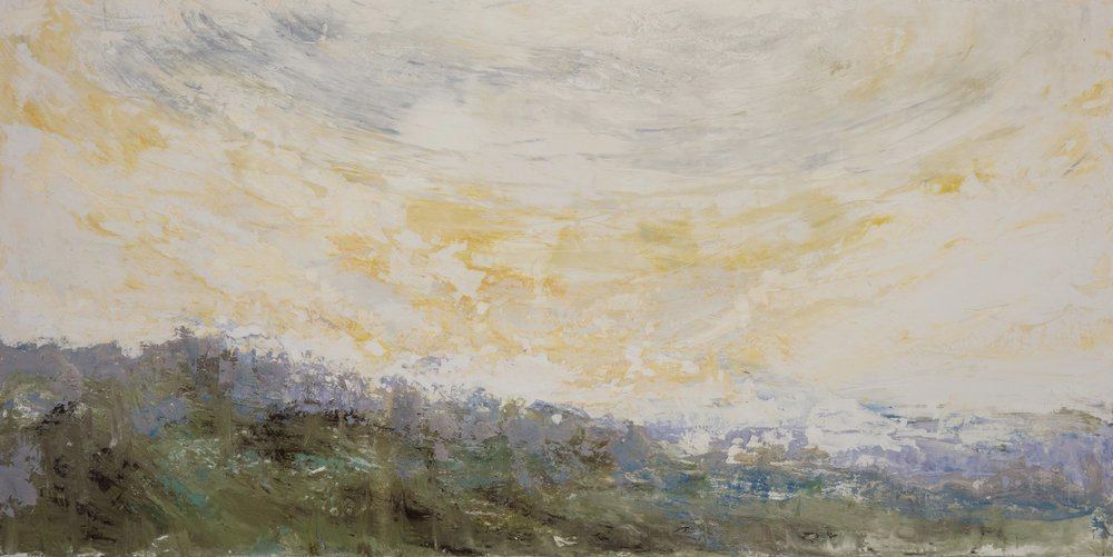 Shelley Vanderbyl - Facing a Wider Dawn (Full Crop) - 2016 - Fresco on Panel - 48x96.jpg