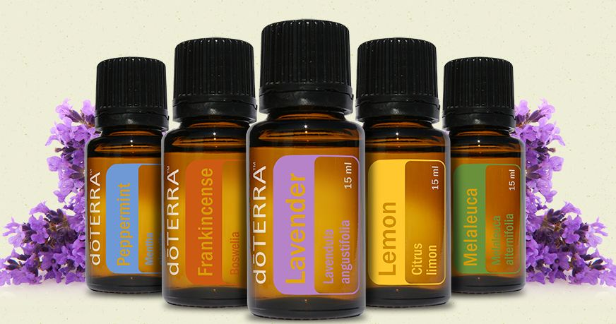 doTERRA Oils for Stress and Anxiety
