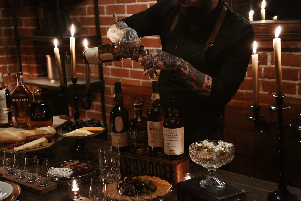 EXCLUSIVE WHISKEY TASTING -