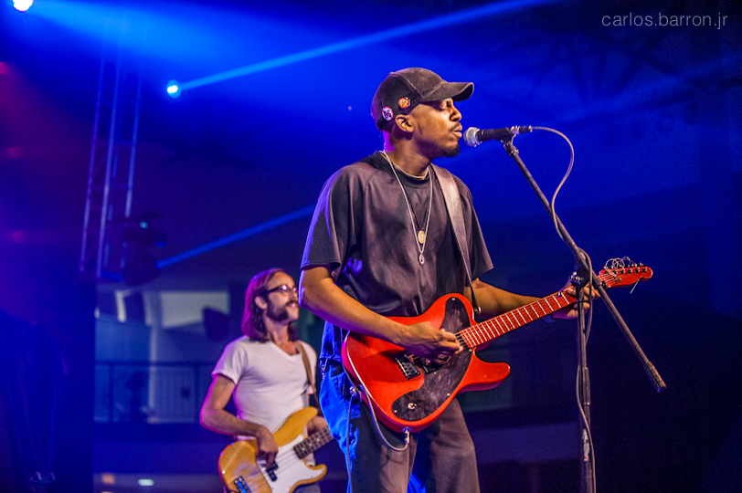 Black Joe Lewis and the Honeybears at Clusterfest 2012 | © Carlos Barron Jr