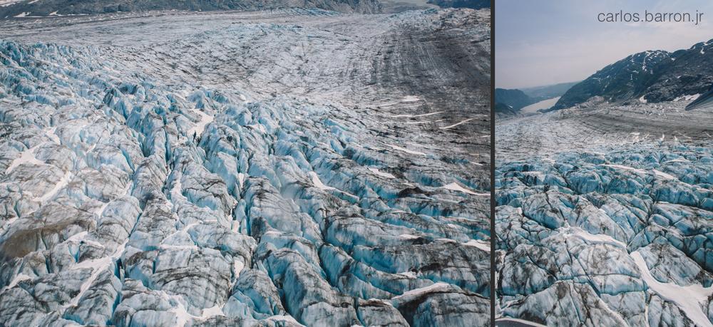 Double Glacier - AK West Air | © Carlos Barron Jr