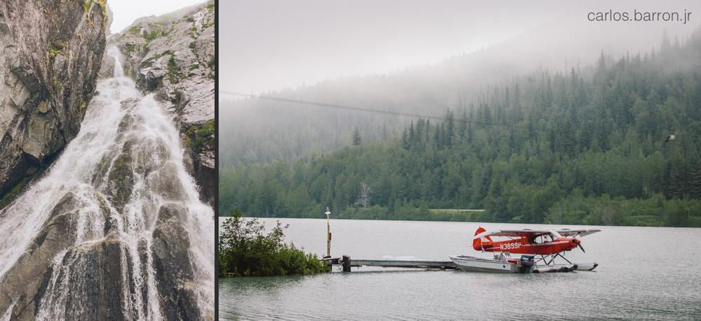 Water Falls Kenai Fjords - Float Plane