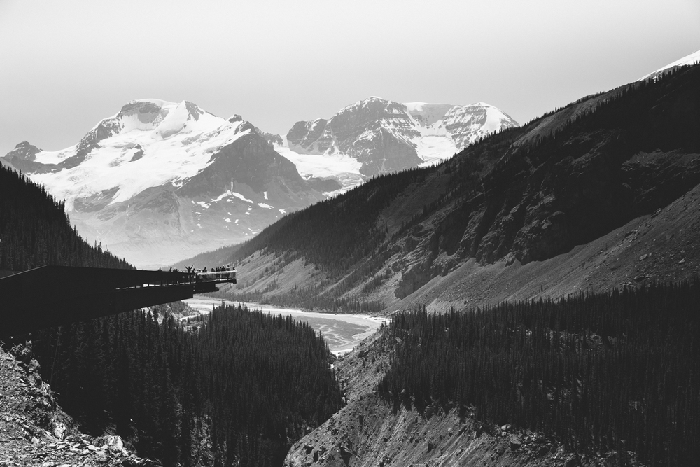 Columbia Icefields: Athabasca Glacier, Alberta Canada