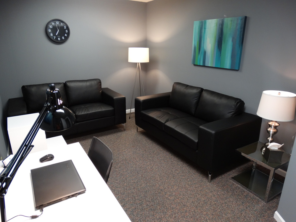 Radzom Counseling Maryville 62062 IL Therapy Room 1