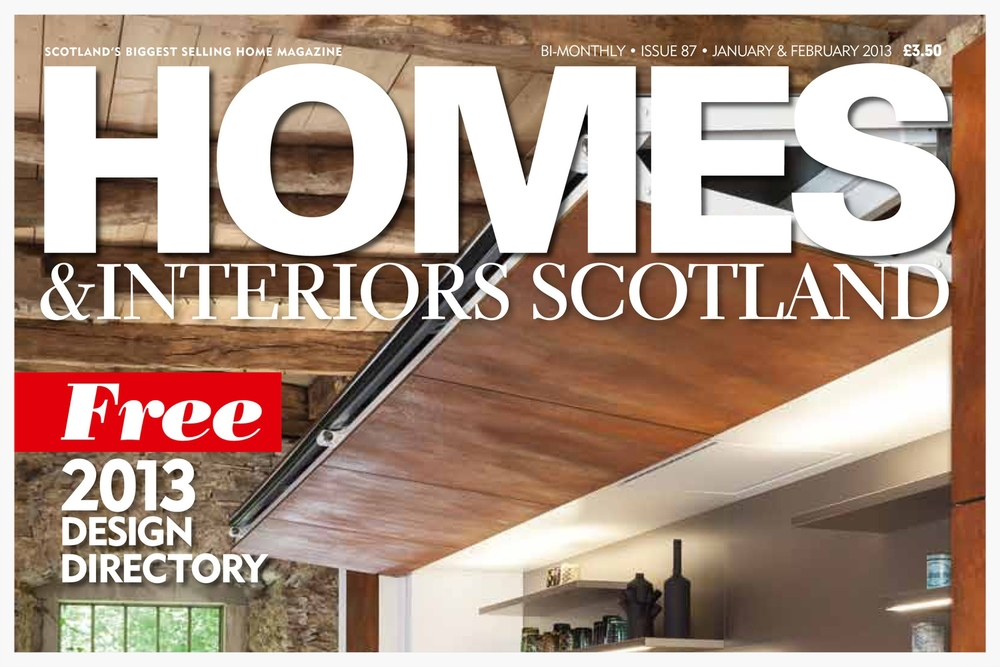 Homes and Interiors Scotland Jan 2013