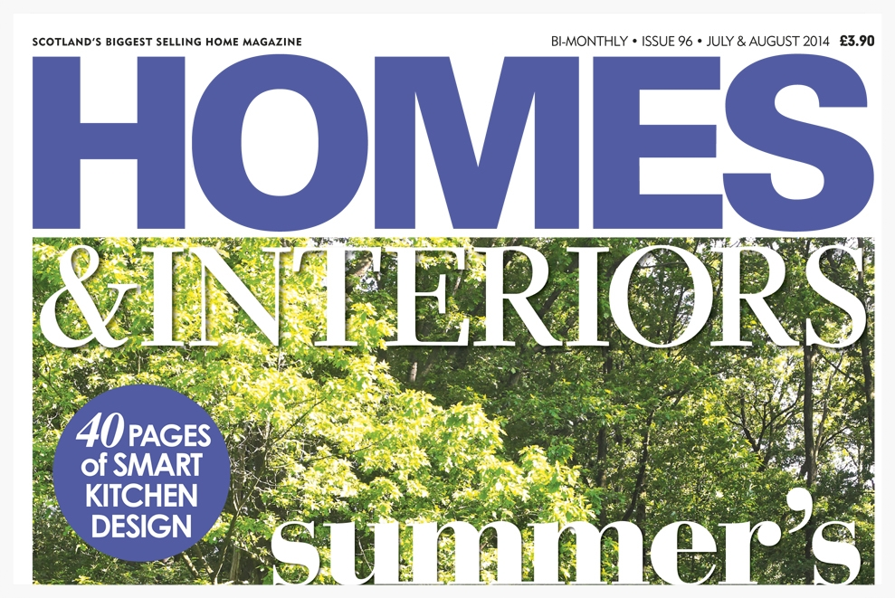 Homes & Interiors, July August 2014