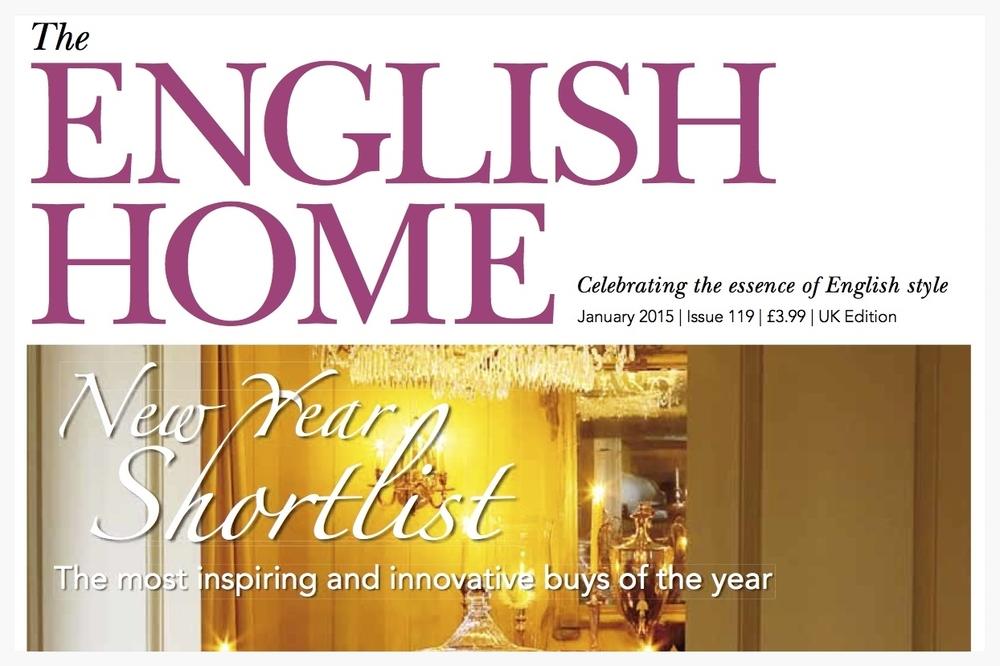 English Home Magazine, Jan 2015
