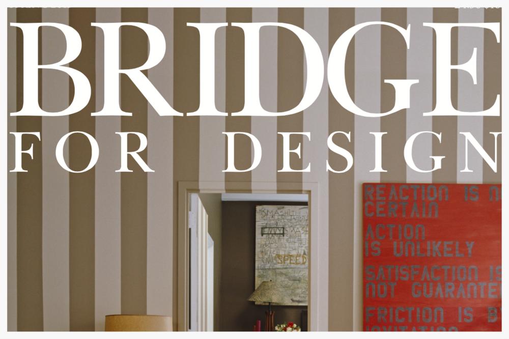 Bridge for Design, Spring 2015