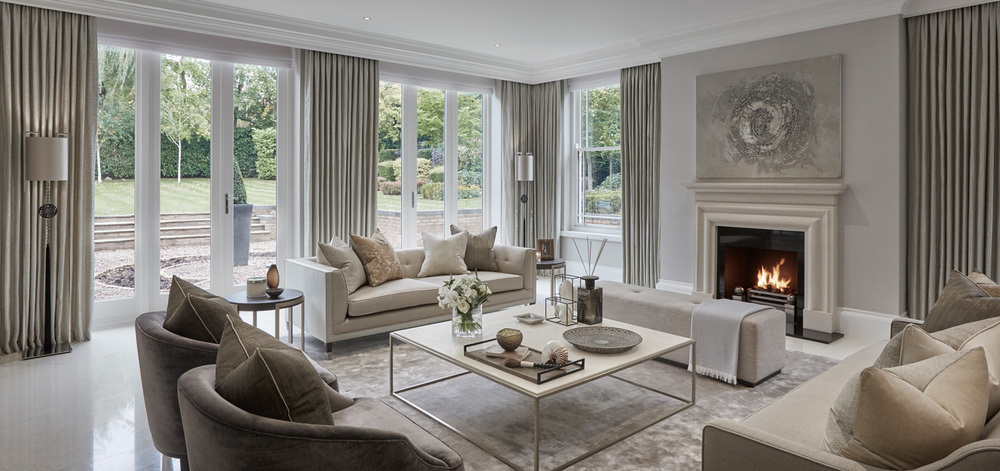 Luxury interior design london surrey sophie paterson for Interior design london
