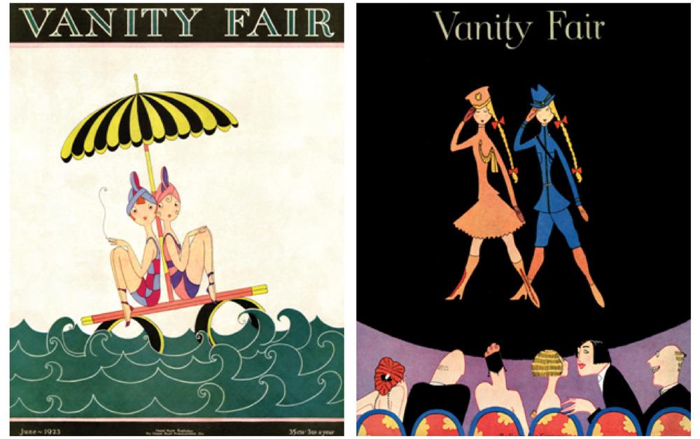 Vintage Vanity Fair Postcards Unique Markets
