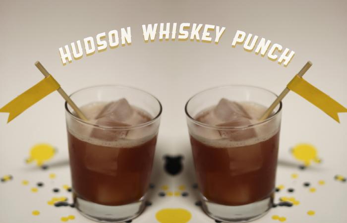 hudson whiskey punch — unique markets