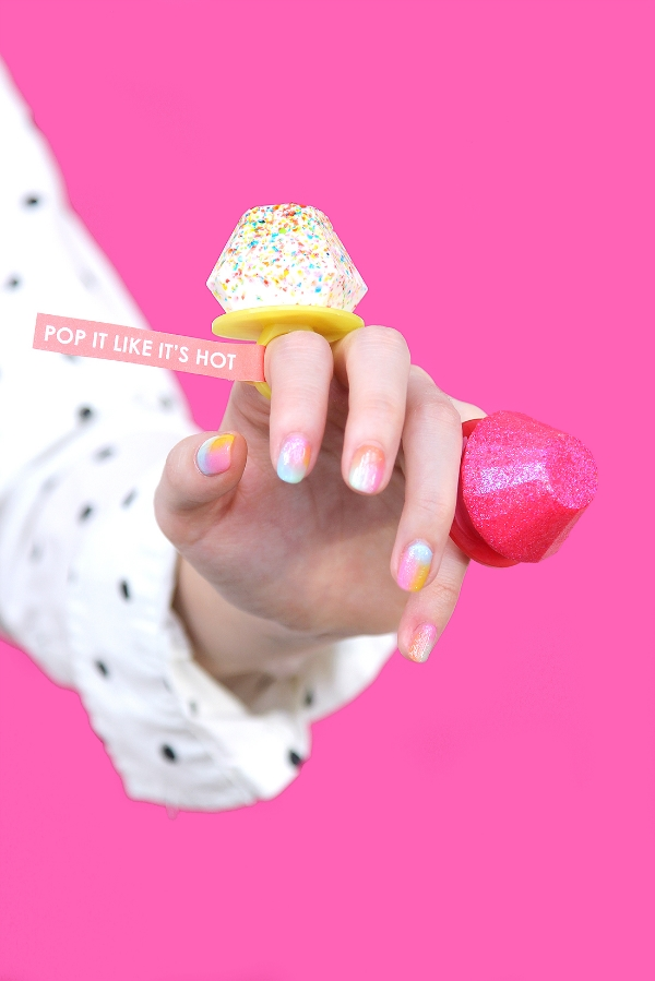 DIY Chocolate Ring Pops from Brit + Co