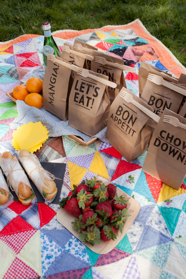Clip-on Picnic Utensils from Oh Happy Day