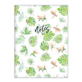 Tropical Foliage Notebook by Fiber & Dye.