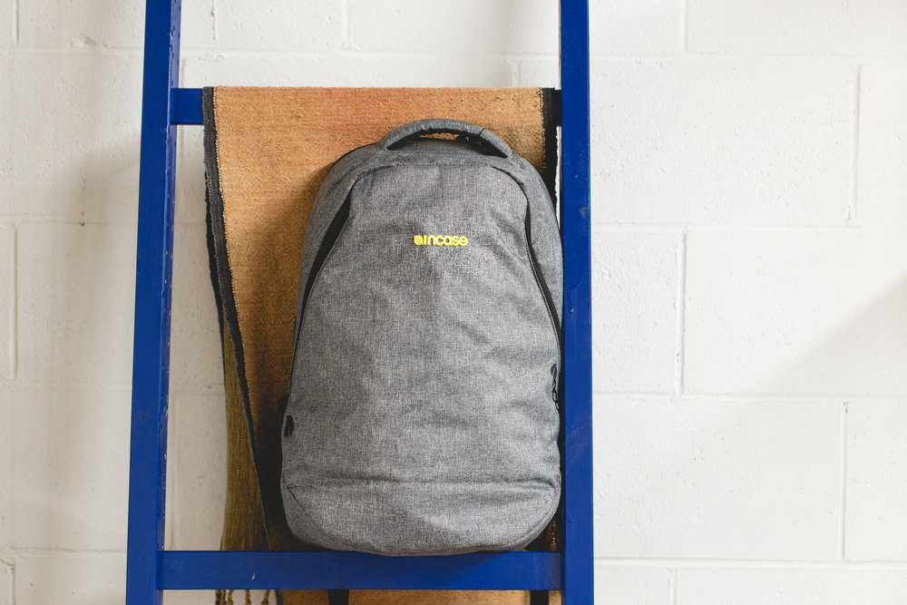 Back to School with Incase! - The new home for your daily essentials. This sleek Reform backpack from Incase helps you stay ahead of the game when you're on the go! ($150 value!)