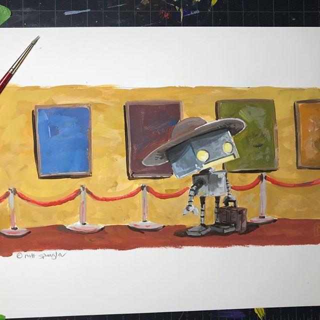 Robot by Matt Q Spangler