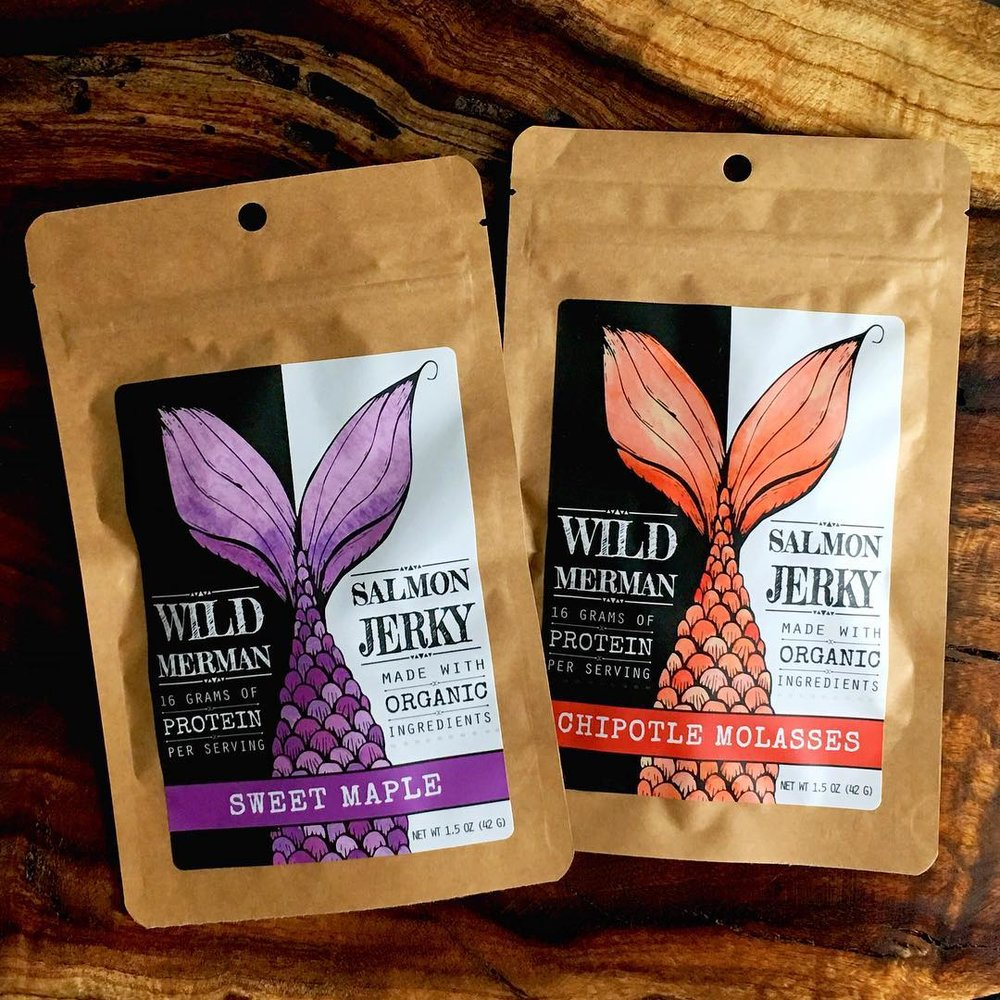 Wild Merman Salmon Jerky