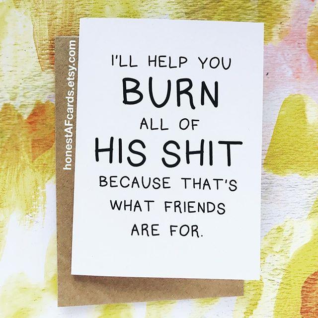 Honest AF Cards