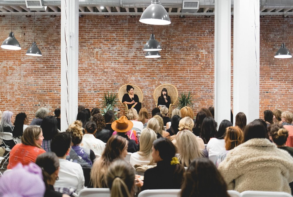Talking to women about entrepreneurship and creativity