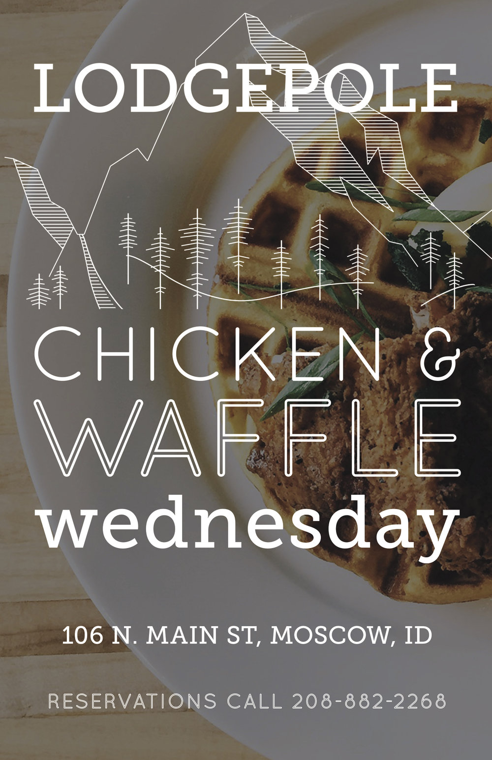 Chicken & Waffle Wednesday