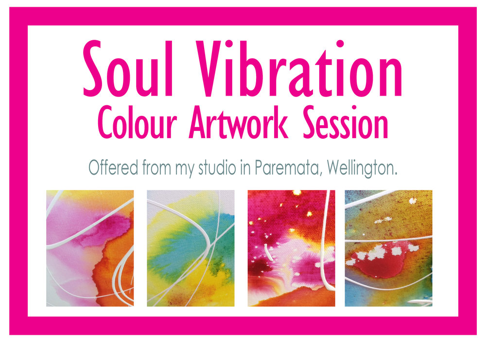 Soul Vibration Colour Artwork Session