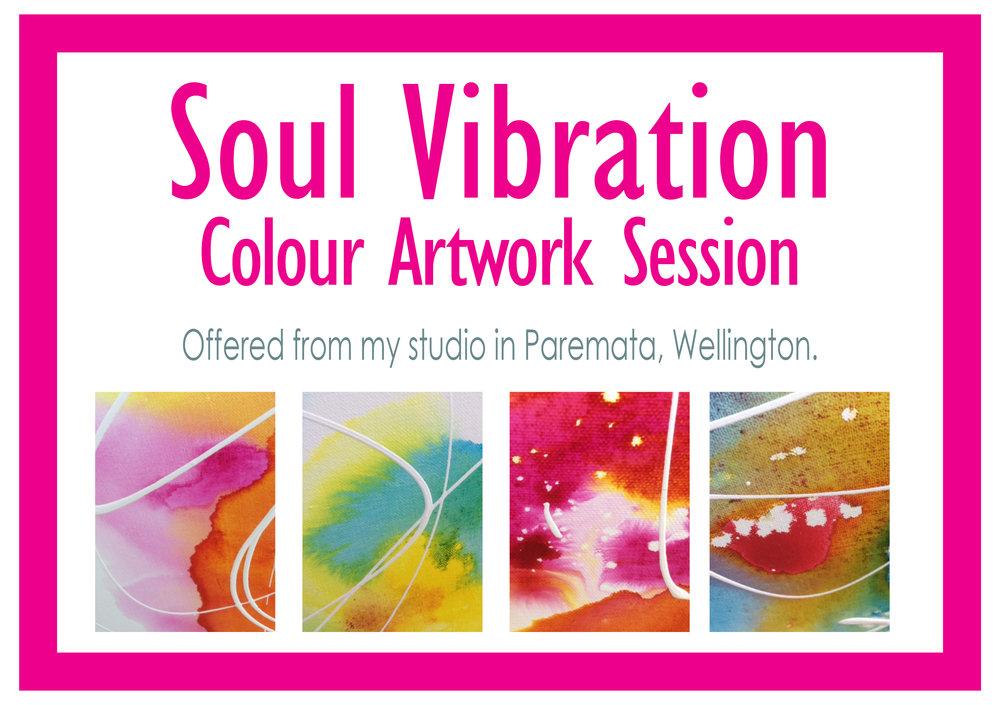 Soul Vibration Colour Artwork Session