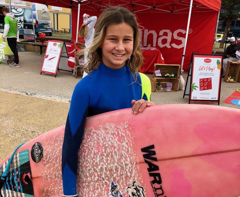Emi Coates Surfer