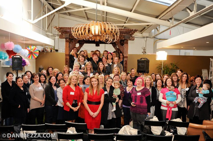 "TOP 50 Aussie Mummy Bloggers at the KidsBusiness ""Bloggers Brunch"" Photo: danimezza.com"